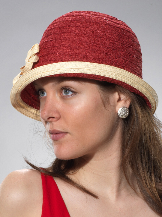 cloche raffia, pliable, divers coloris, Sfr. 89.-